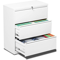 BEST LATERAL 3-DRAWER FILE CABINET WHITE picks