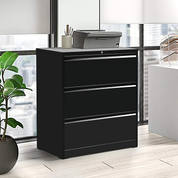 BEST LATERAL 3-DRAWER METAL FILE CABINET