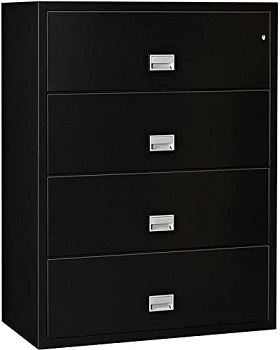 BEST LATERAL 4-DRAWER FIREPROOF FILE CABINET