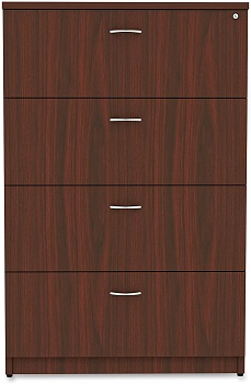 BEST OF BEST 4-DRAWER LATERAL FILE CABINET WOOD
