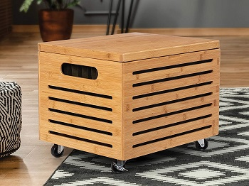BEST OF BEST BAMBOO FILE CABINET