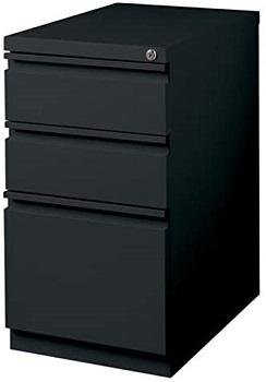 BEST OF BEST BLACK 3-DRAWER FILE CABINET