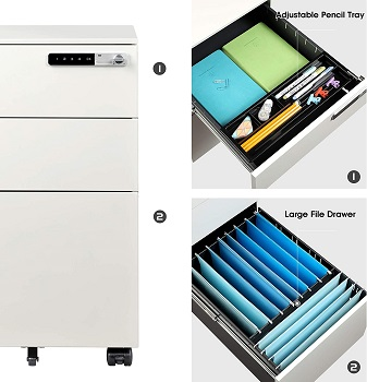 BEST OF BEST COMBINATION FILE CABINET