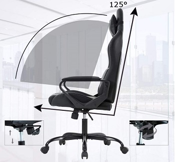 BEST OF BEST OFFICE CHAIR WITH LUMBAR AND NECK SUPPORT