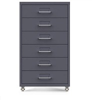 BEST ON WHEELS 6-DRAWER FILE CABINET picks