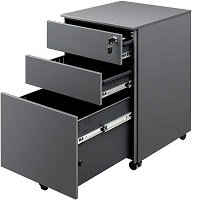 BEST PORTABLE 3-DRAWER VERTICAL FILE CABINET picks