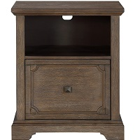 BEST SMALL ANTIQUE WOOD FILE CABINET picks