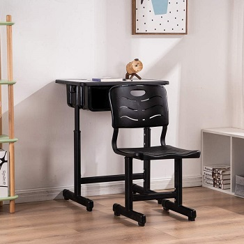 BEST SMALL CHEAP DESK AND CHAIR