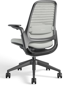 BEST SMALL LOW-BACK OFFICE CHAIR WITH ARMS