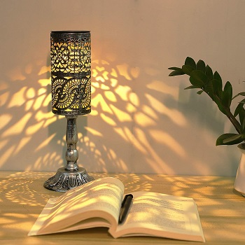 BEST SOLAR OUTDOOR TABLE LIGHT