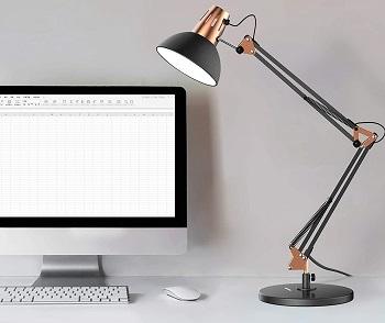 BEST SWING ARM MODERN LED DESK LAMP