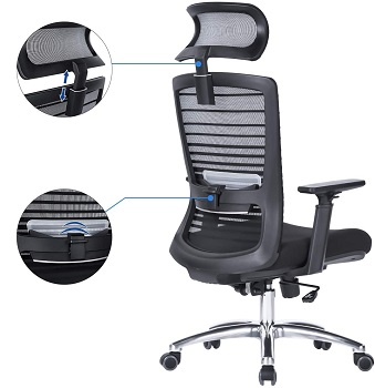 BEST TALL OFFICE CHAIR STRAIGHT BACK