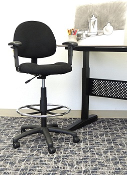 BEST WITH ARMRESTS COMFORTABLE OFFICE CHAIR UNDER 200