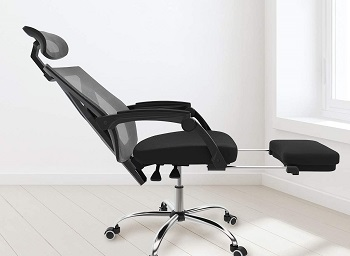 BEST WITH ARMRESTS MESH CHAIR BACK SUPPORT