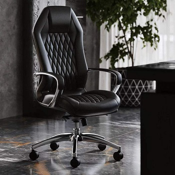 BEST WITH ARMRESTS MODERN HIGH-BACK OFFICE CHAIR