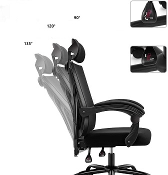 BEST WITH BACK SUPPORT COMFORTABLE OFFICE CHAIR UNDER 200