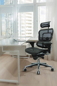 BEST WITH BACK SUPPORT MESH BACK AND SEAT OFFICE CHAIR
