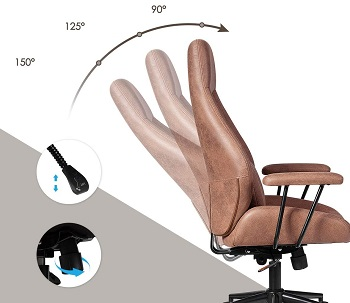BEST WITH BACK SUPPORT MODERN HIGH-BACK OFFICE CHAIR