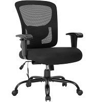 BEST WITH BACK SUPPORT OFFICE CHAIR FOR SHORT HEAVY PERSON Summary