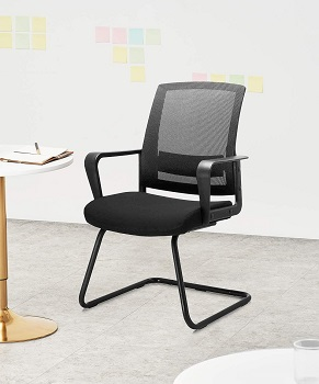 BEST WITH BACK SUPPORT WRITING DESK CHAIR NO WHEELS