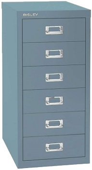 Bisley 6 Drawer Steel