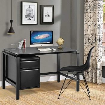 Black Computer Desk intergreat
