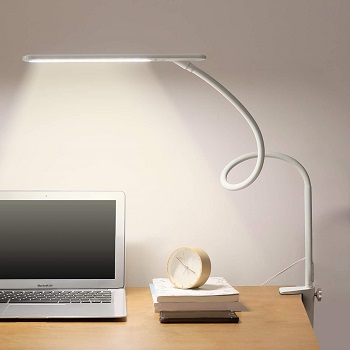 Bolowei LED Desk Lamp with Clamp
