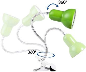 Cesa Clip-On Desk Lamp