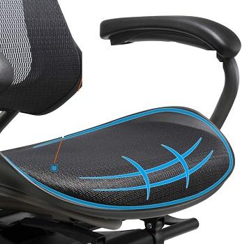 Clatina LYL Mesh Swivel Chair