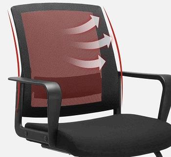 Clatina MC-1011P Mesh Chair