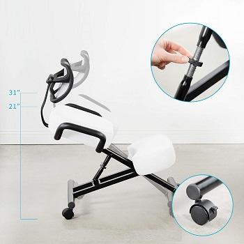 Dragonn DN-CH-K02W Kneeling Chair
