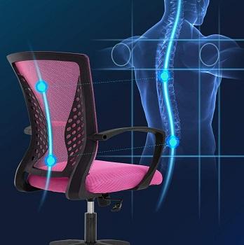 FDW Store Swivel Mesh Chair