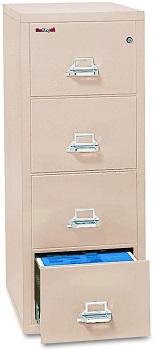 FireKing Fireproof Vertical File Cabinet