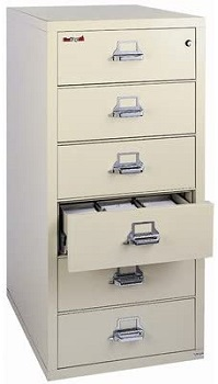 Fireproof 6-Drawer Card