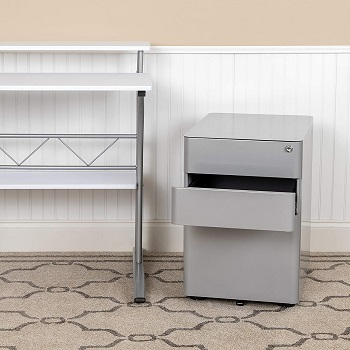 Flash Furniture Modern 3-Drawer