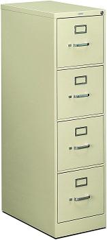 HON 4-Drawer Filing Cabinet