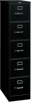 HON 5-Drawer Filing Cabinet