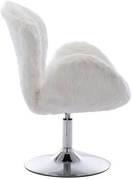 H&Y Comfy Modern Faux Chair