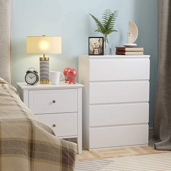 Homfa 4 Drawer Dresser,