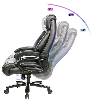 Kbest Leather Adjustable Chair