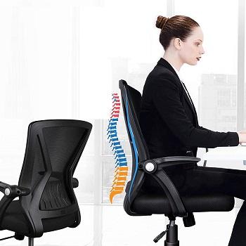 Kolliee Mid-Back Mesh Chair
