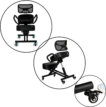 Luckyermore Adjustable Ergonomic Chair