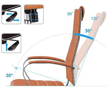 Luxmod High-Back Office Chair