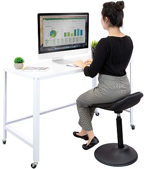 Mount-It Sit Stand Stool Office Chair