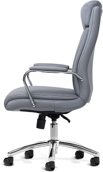 Office Factor 1111GY Leather Chair