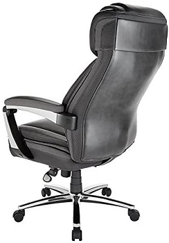 Realspace Axton Leather Office Chair
