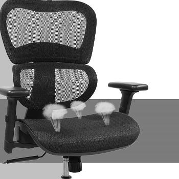 Rimiking BK1388R Mesh Chair