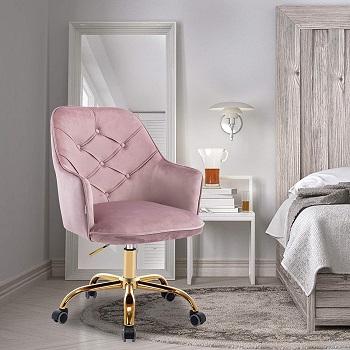 SSLine Velvet Desk Chair
