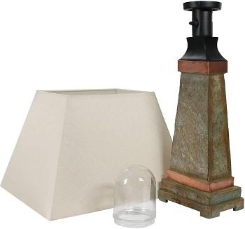 Sunnydaze IndoorOutdoor Table Lamp