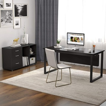 Tribesigns L-Shaped Computer Desk,